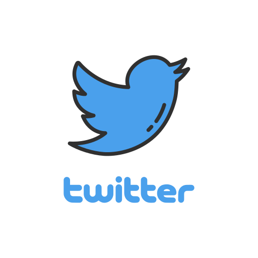 Logo, twitter, twitter logo, bird icon