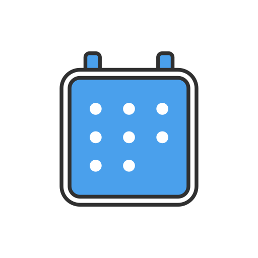 calendar, date, events, twitter icon