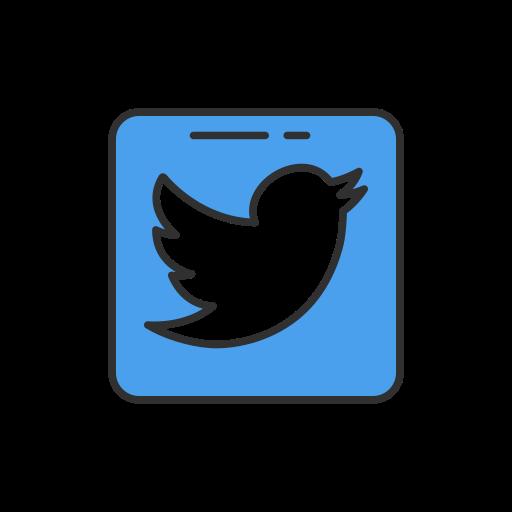 Bird, logo, twitter, twitter logo icon - Free download