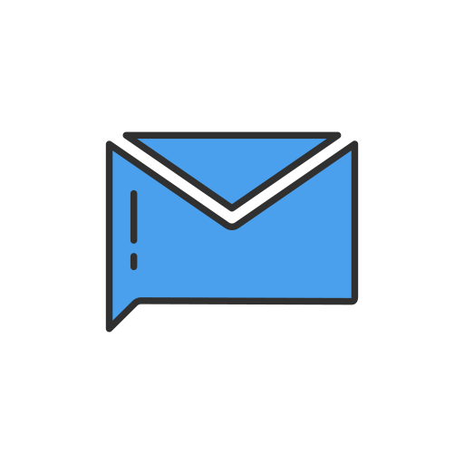 inbox, message, send, twitter icon