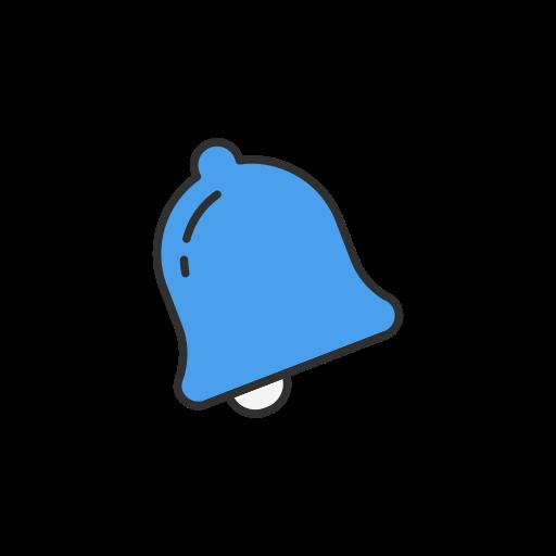 bell, notification, social media, twitter icon