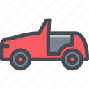 car, convertible, transport, transportaion, vehicle icon