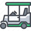 car, transportaion, golf, transport, vehicle icon