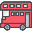 bus, car, transport, transportaion, vehicle icon