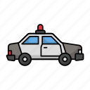 police vehicle, police cruiser, patrol car, cop car, squad car, police car