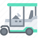 car, golf, transport, transportation icon