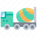 camions, car, toupie, transport, transportation icon