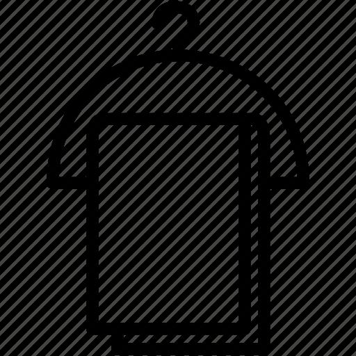 bath, bathroom, hanger, shower, toilet, towel, wiping icon