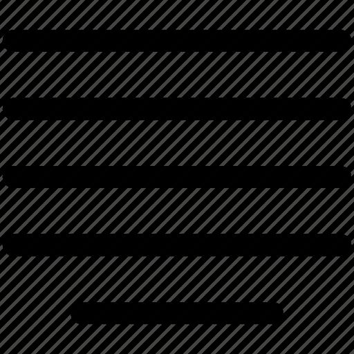 align, center, page, text icon icon