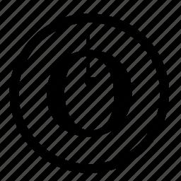 closed, counter, design, designer, typography icon