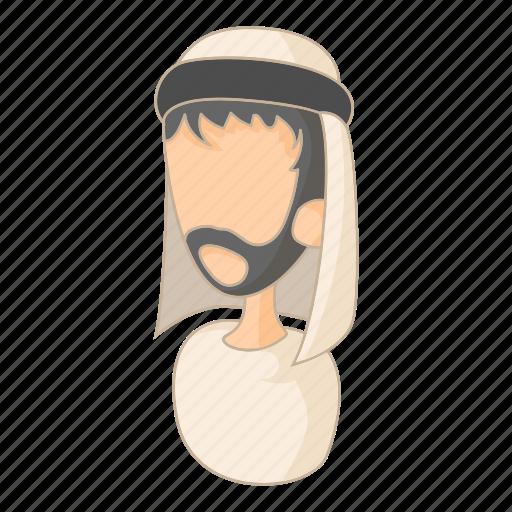 arab, arabic, cartoon, islam, man, muslim, saudi icon