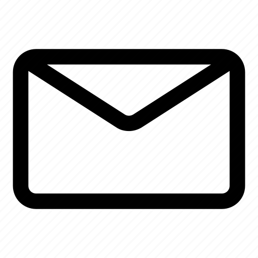 email, envelope, letter, unread icon