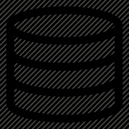 data, database, stack, storage icon