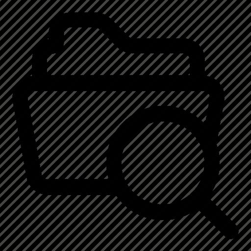 Archive, document, file, find, folder icon - Download on Iconfinder