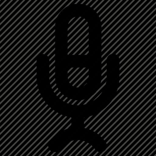 audio, media, message, microphone, record, sound, ui icon