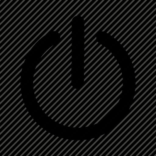 app, interface, off, on, power, start, ui icon