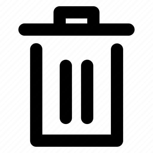 app, delete, empty, interaction, remove, trash, ui icon