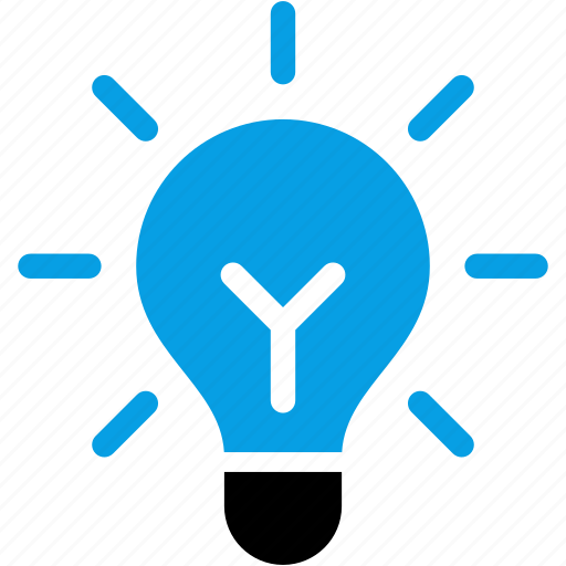 bulb, business, creative, idea, new, thinking icon