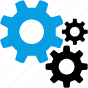 configuration, control, gears, options, preferences, settings, tools icon