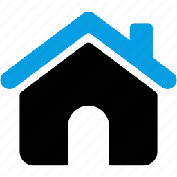 apartment, building, estate, home, house, office icon