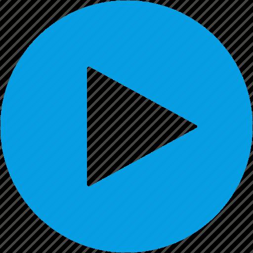 audio, film, movie, multimedia, play, player, video icon