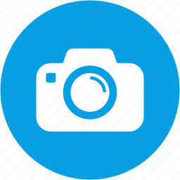 camera, circle, media, movie, multimedia, player, video icon