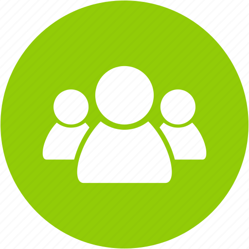 account, circle, client, crowd, group, people, user icon