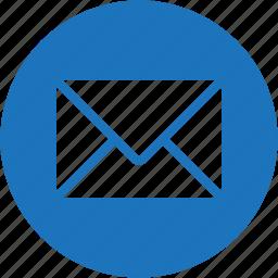 bubble, circle, email, envelope, letter, message, send icon