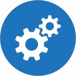 circle, configuration, gear, options, preferences, settings, tools icon