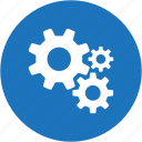 circle, configuration, gears, options, preferences, settings, tools icon