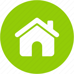 building, circle, construction, estate, home, house, office icon