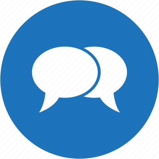 bubble, chat, circle, message, speech, talk icon