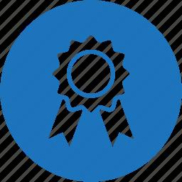award, badge, circle, medal, reward, trophy, winner icon