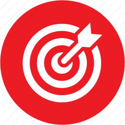 business, goal, marketing, seo, success, target icon