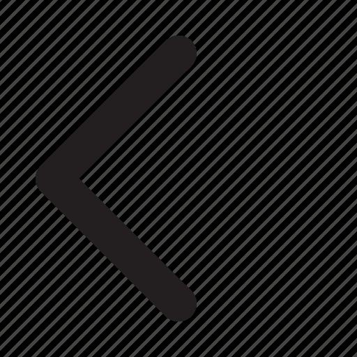 Arrow, left, navigation, phone, ui, website icon - Download on Iconfinder