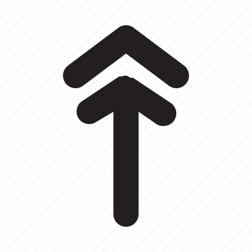 arrow, direction, navigation, phone, ui, up, website icon