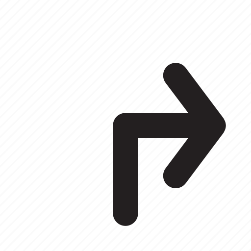 arrow, mobile, navigation, phone, right, ui, website icon