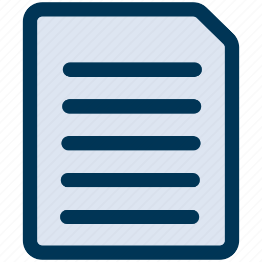 Document, file, paper icon - Download on Iconfinder