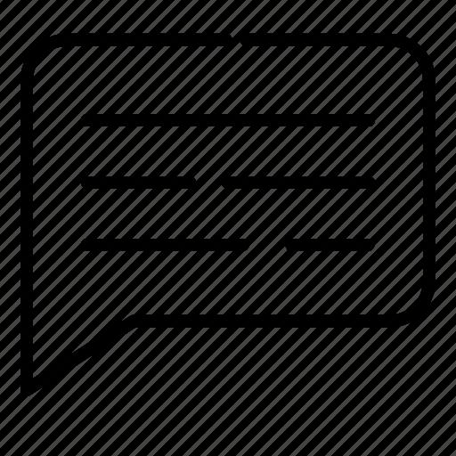 chat, feedback, messege, pesan, review, ui icon
