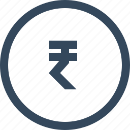 coin, currency, money, rupee icon