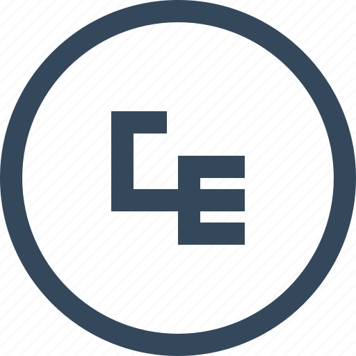 coin, currency, ecu, money icon