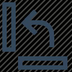 rotate, rotate counter clockwise, rotate horizontally icon