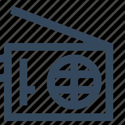 fm radio, radio, radio station icon
