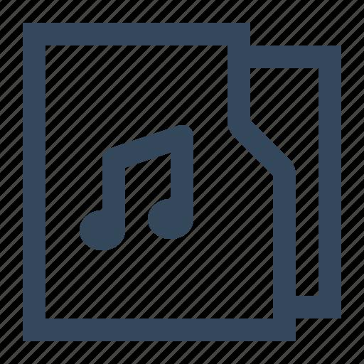 folder, music, music folder, songs icon