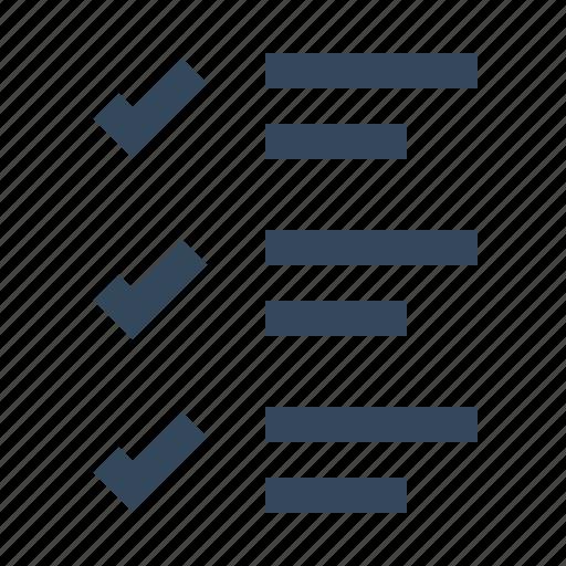 accept, check, checklist, tick icon