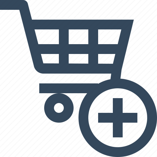 add, add to cart, cart, plus, shopping cart, trolley icon