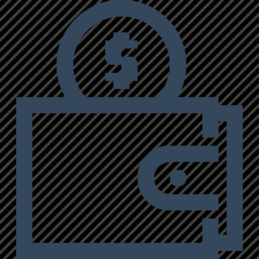money, purse, wallet icon