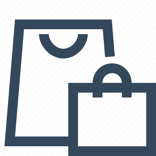 shopping, shopping bag icon