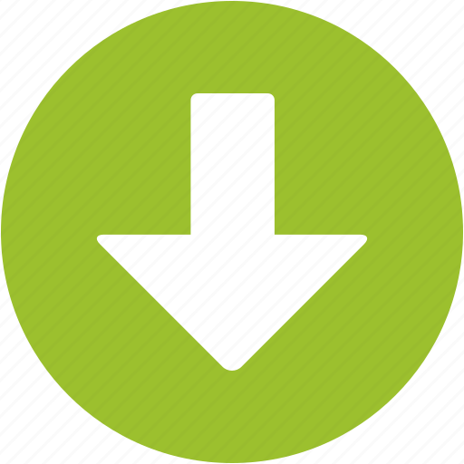 Arrow, back, down arrow, download, down, interface, move icon - Download on Iconfinder