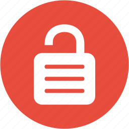 lock, password, protect, protection, safe, security, unlock icon
